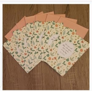 $5 ADD TO BUNDLE!! 6 Pack of Floral Greeting Cards